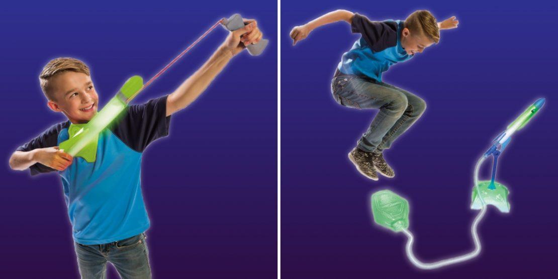 Nightzone LED launch toys
