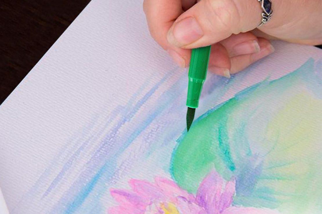 Kingart Watercolor Brush Markers