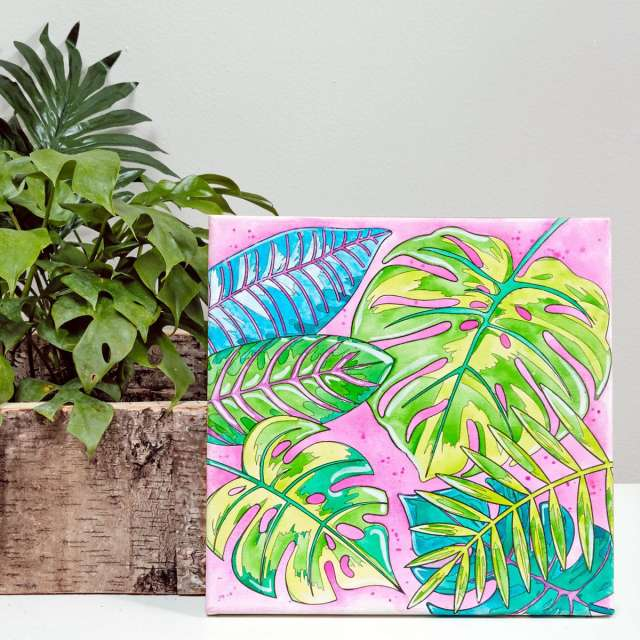 Faber Castell Watercolor By Number - Tropical Foliage