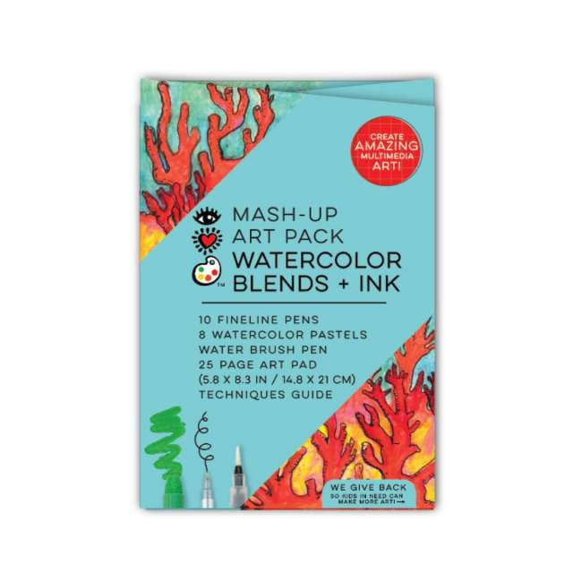 iHeart Art Watercolor Blends + Ink