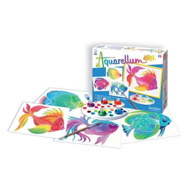 Aquarellum Jr - Fish