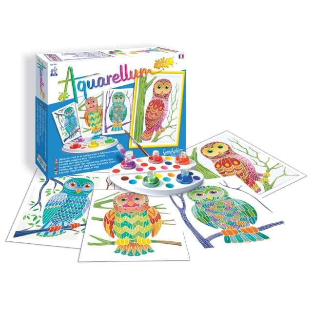 Aquarellum Jr - Owls
