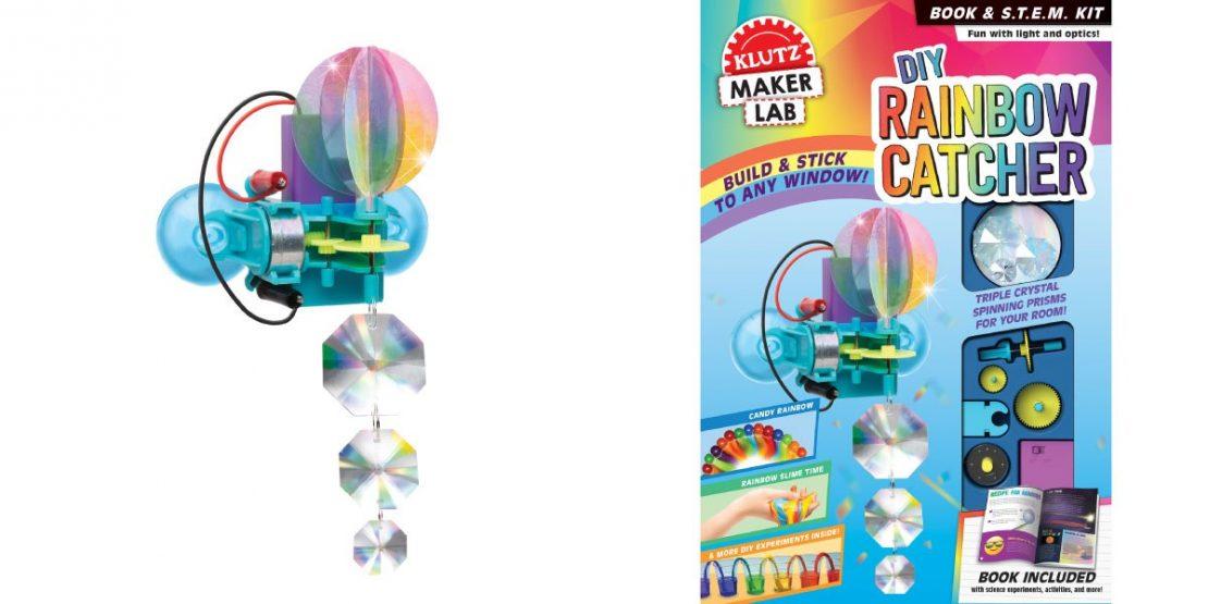 DIY Rainbow Catcher from Klutz