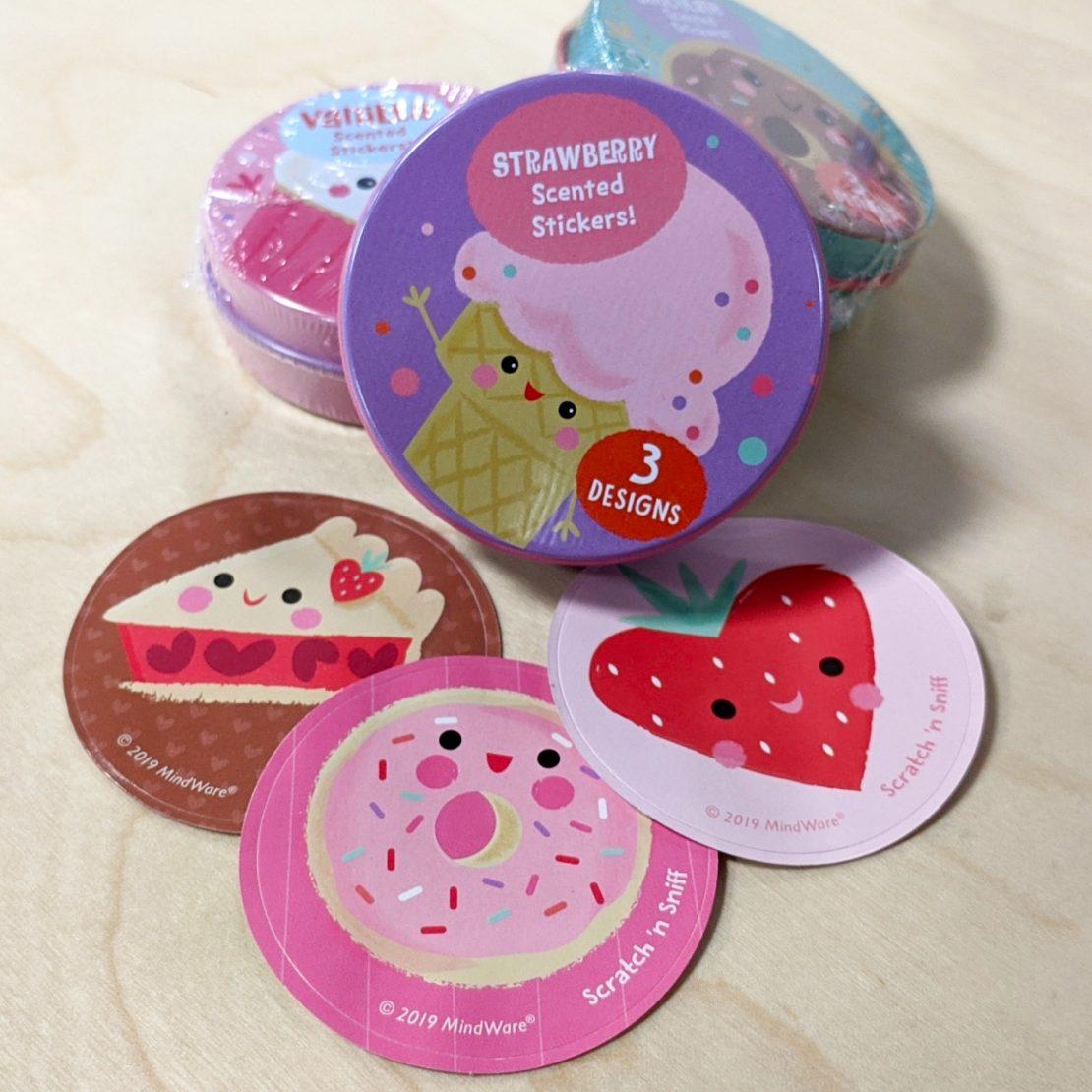 Scratch & Sniff Sticker Tins