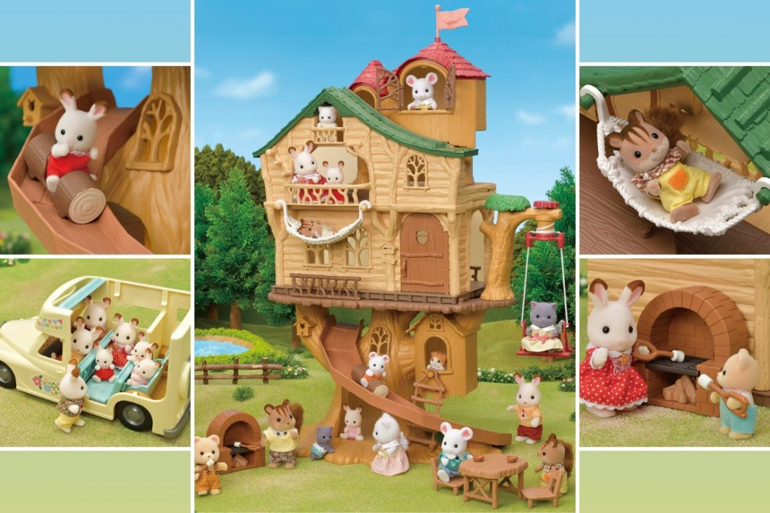 New Calico Critter Playsets with a Woodland Theme!