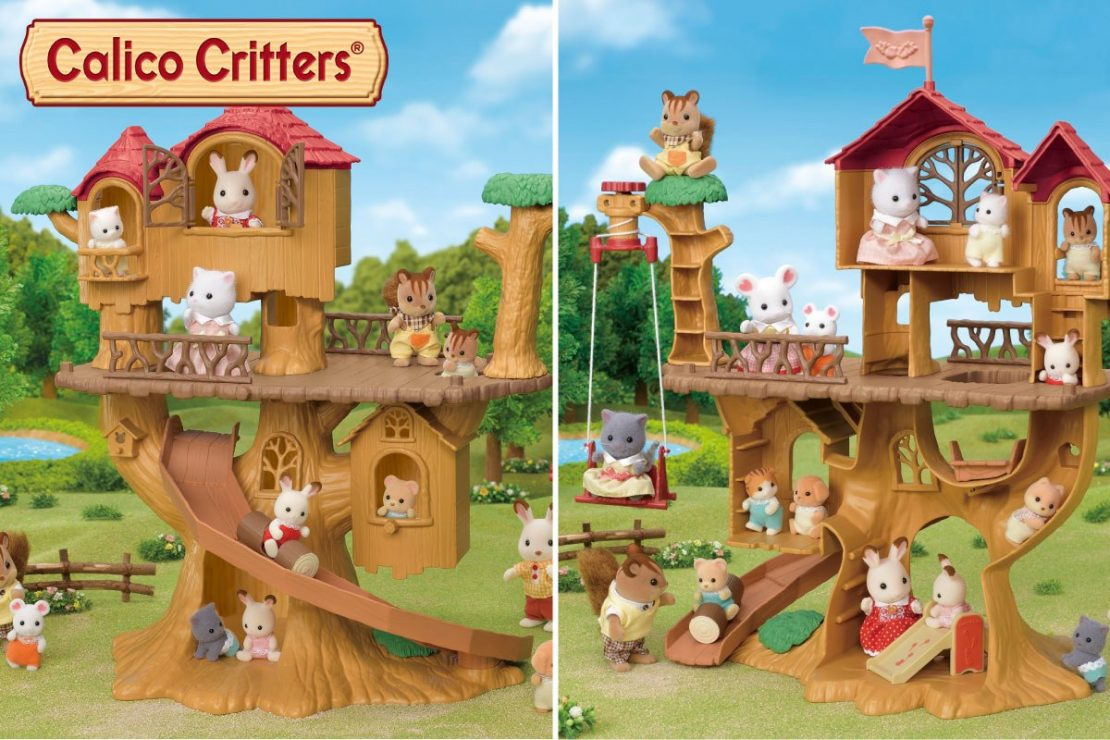 Calico Critters 2020 Adventure Tree House Gift Set