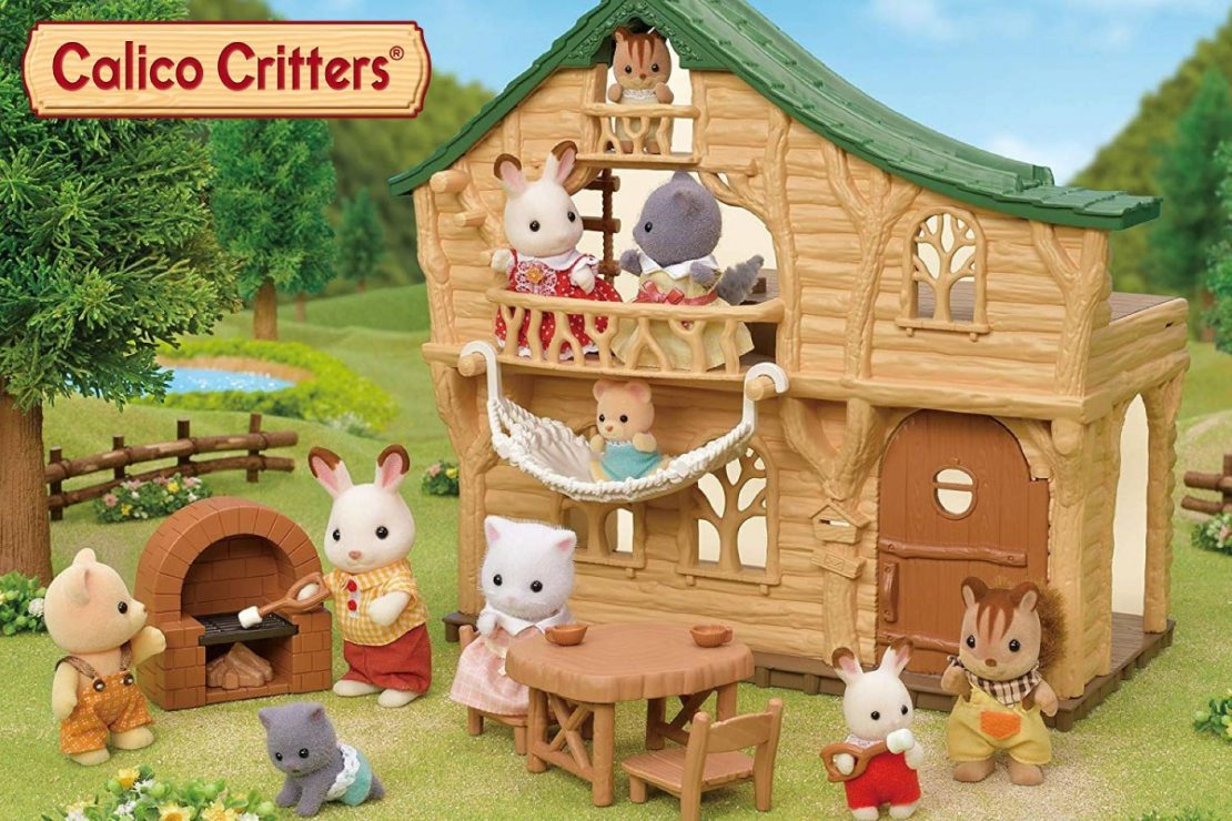 Calico Critters 2020 Lakeside Lodge Gift Set