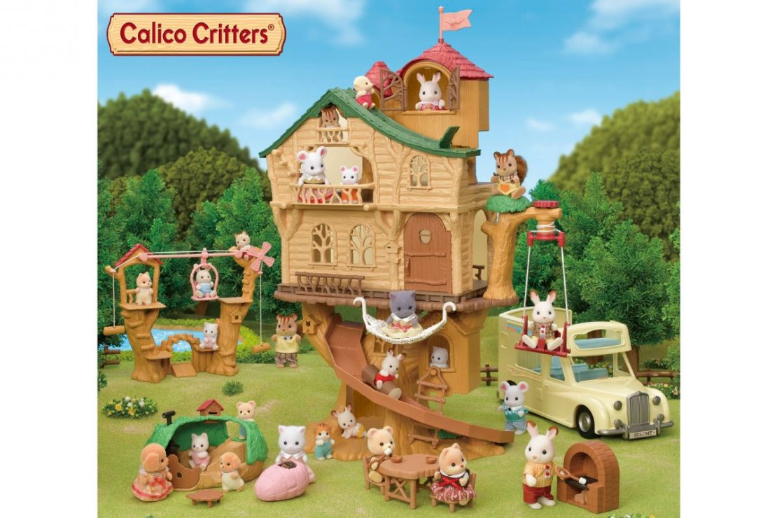 Calico Critters 2020 New Woodland Themed Sets Together