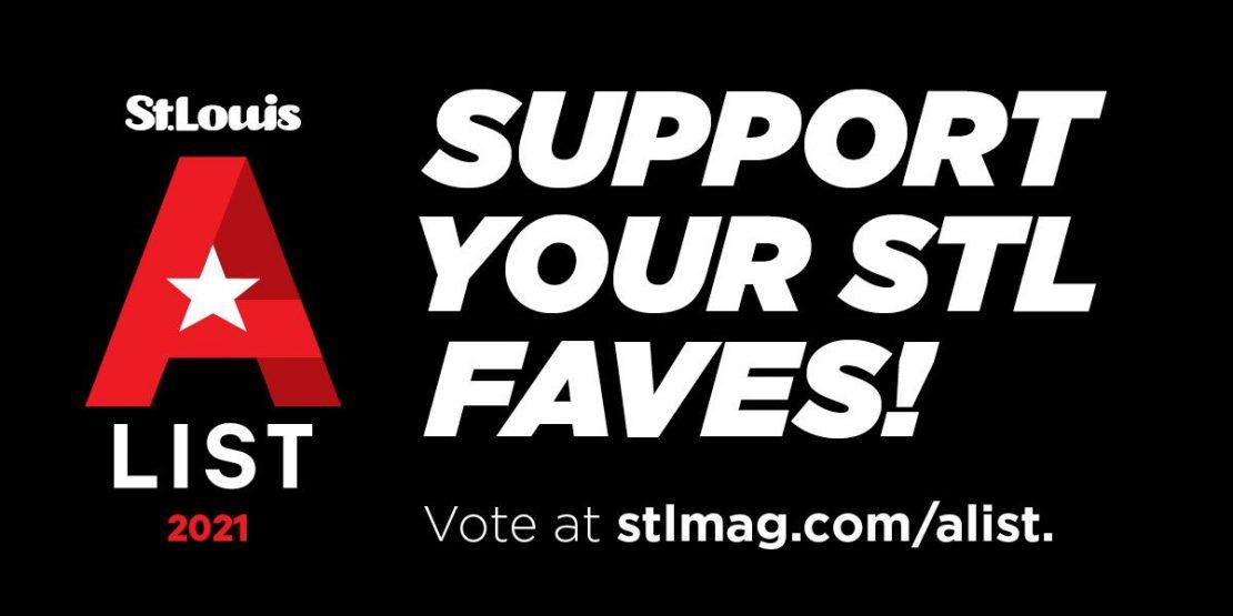 Support yoru STL Faves! St. Louis Magazine A-List