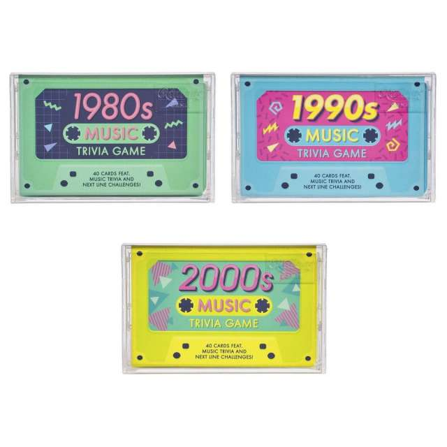 Music Trivia from the 80s, 90s, or 2000s