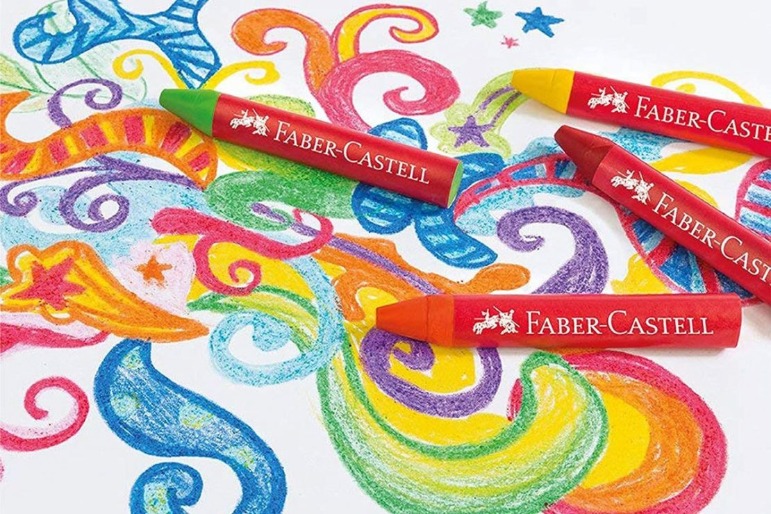 Crayons from Faber-Castell
