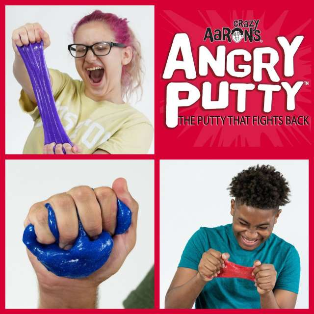 Thinking Putty Angry Putty from Crazy Aaron's