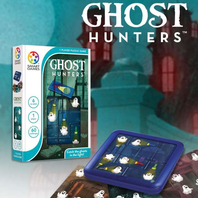 Ghost Hunters Logic Game from Smart Games