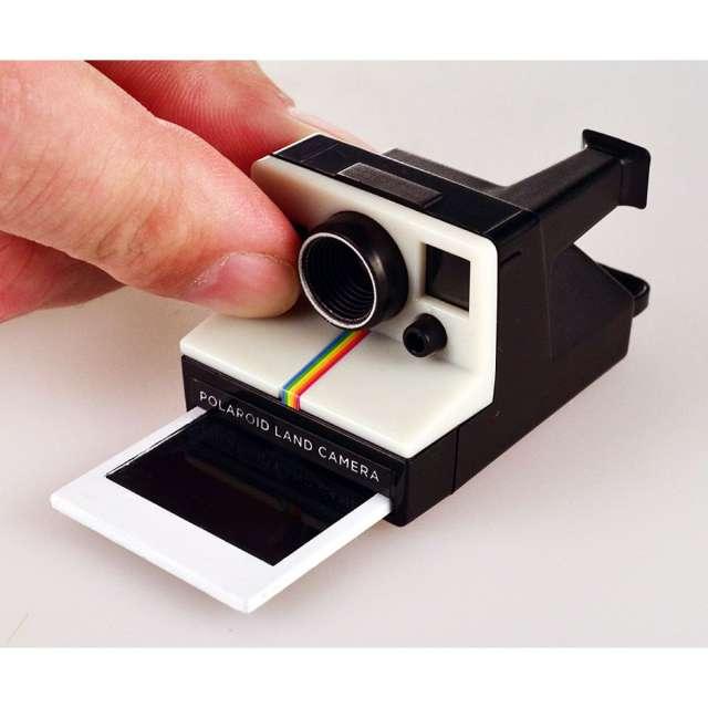 World's Smallest Polaroid Camera Keychain
