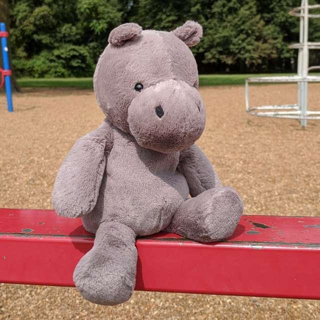 Nimbus Hippo from Jellycat