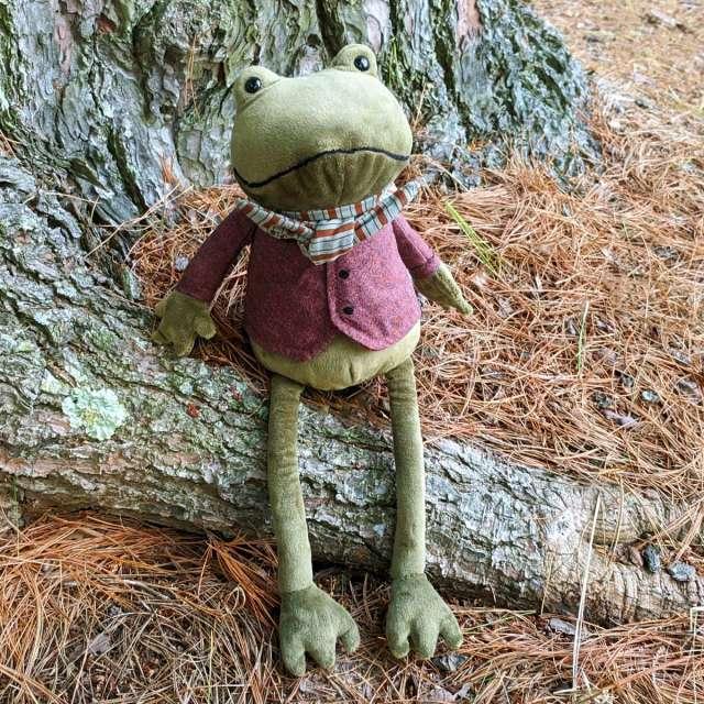 Riverside Rambler Frog from Jellycat