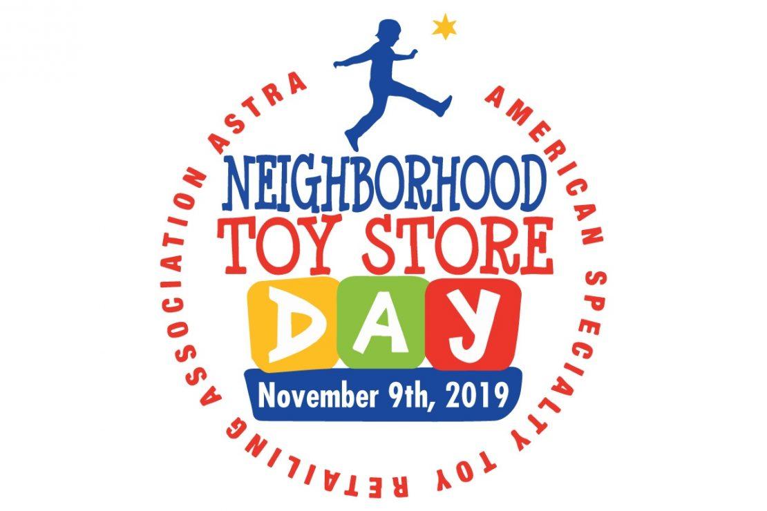 Neighborhood Toy Store Day is Nov. 9, 2019