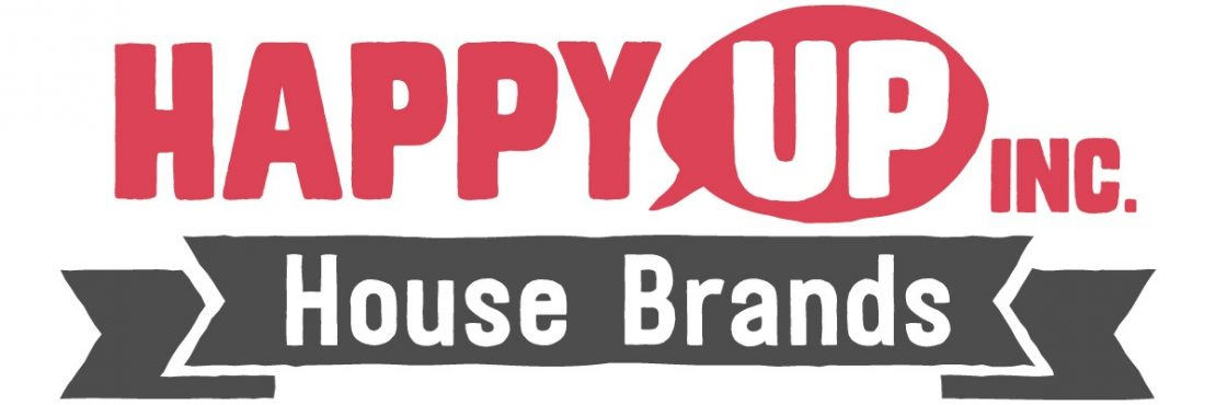 Happy Up Inc. House Brands Logo