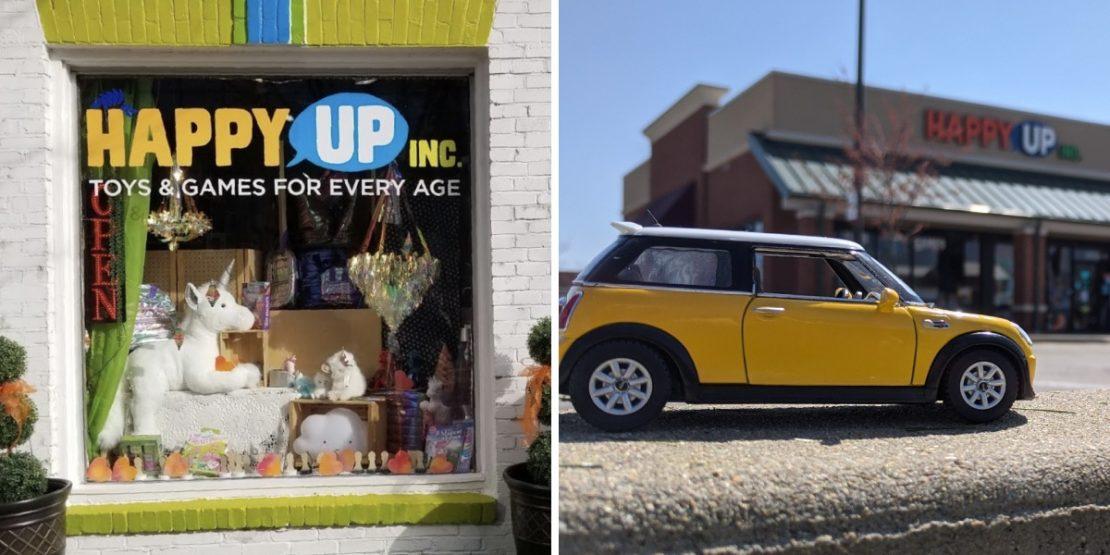 Happy Up Clayton & Happy Up Edwardsville Storefronts