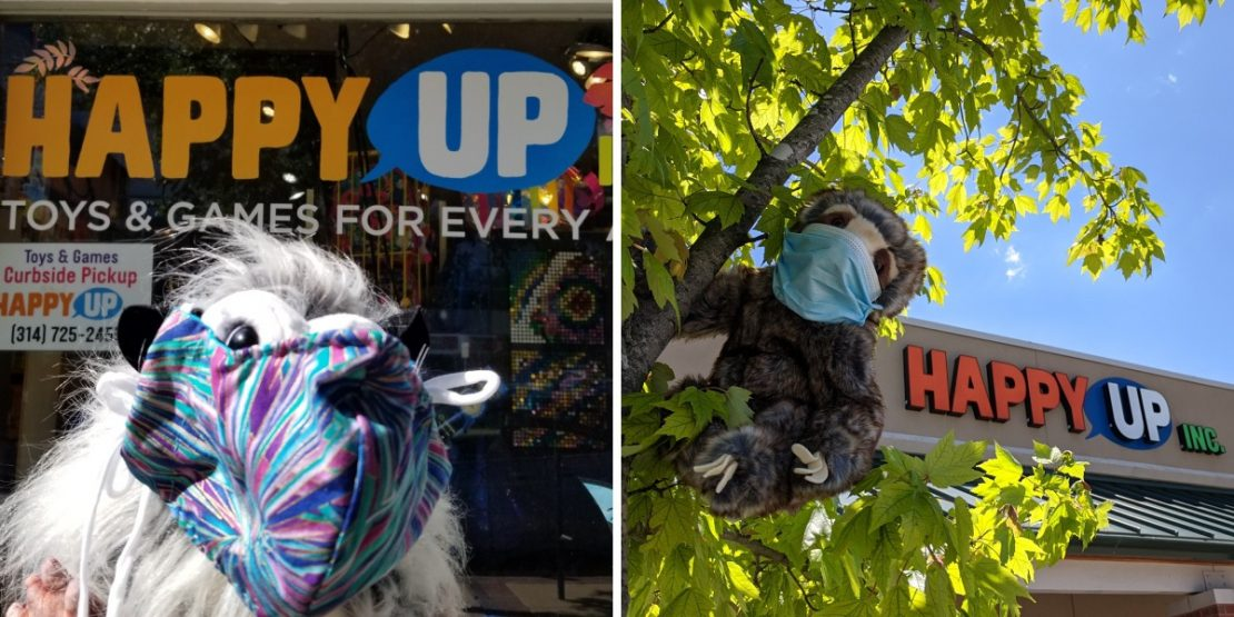 Shop Your Way at the Happy Up Stores!