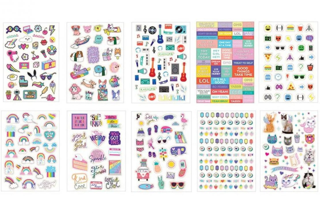 1000+ Totes Adorbs Super Awesome Stickers from Fashion Angels