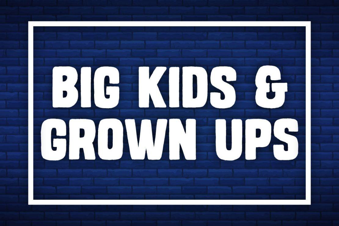 Games for Big Kids & Grown Ups