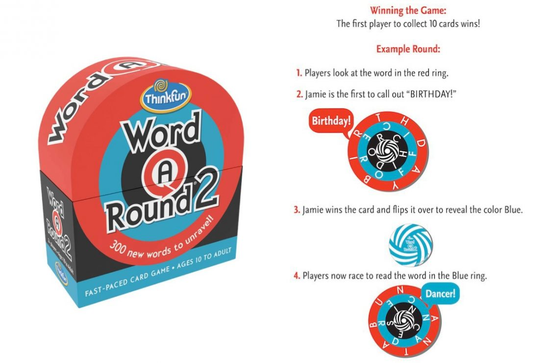 Word-A-Round 2 from ThinkFun