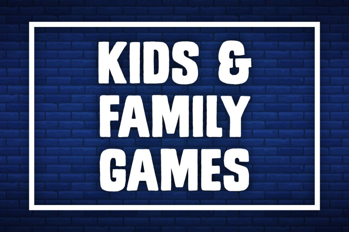 New Years Kids and Family Games