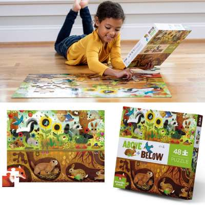 Above + Below Jigsaw Puzzles from Crocodile Creek