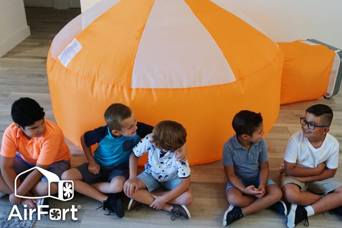 AirFort Inflatable Play Tents