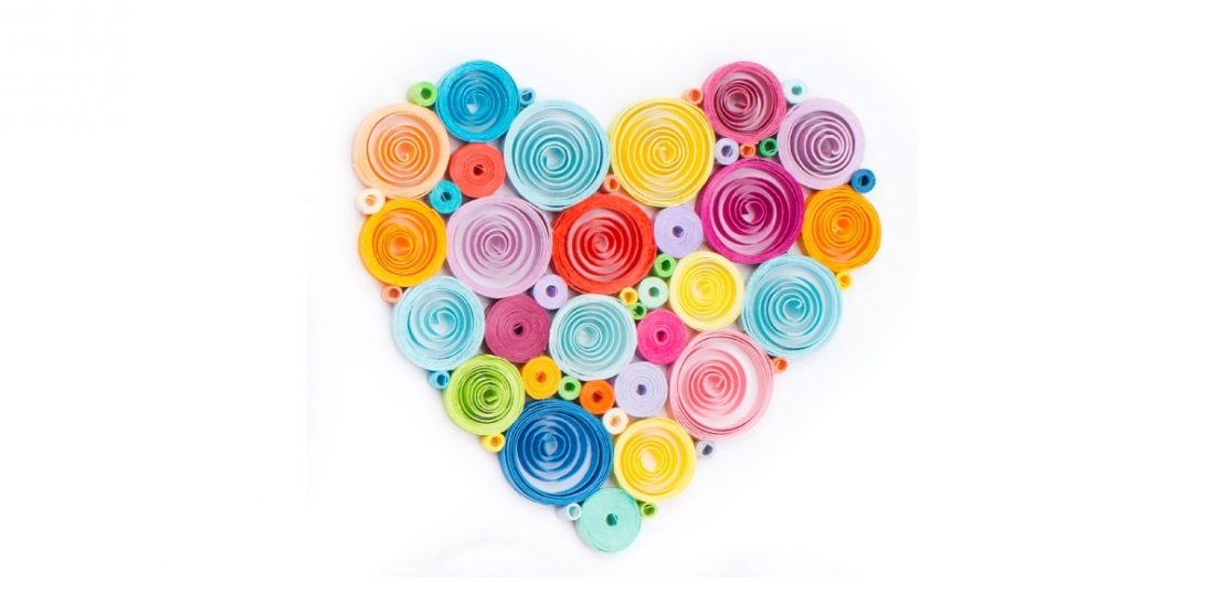 Paper Quilling Example Heart