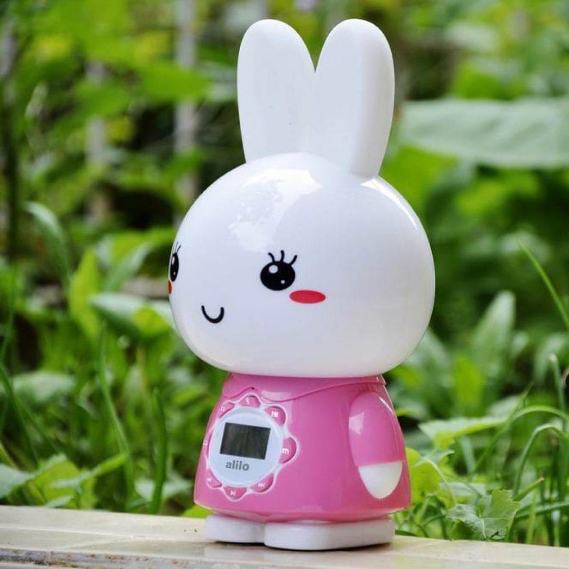 Alilo Big Bunny in Pink