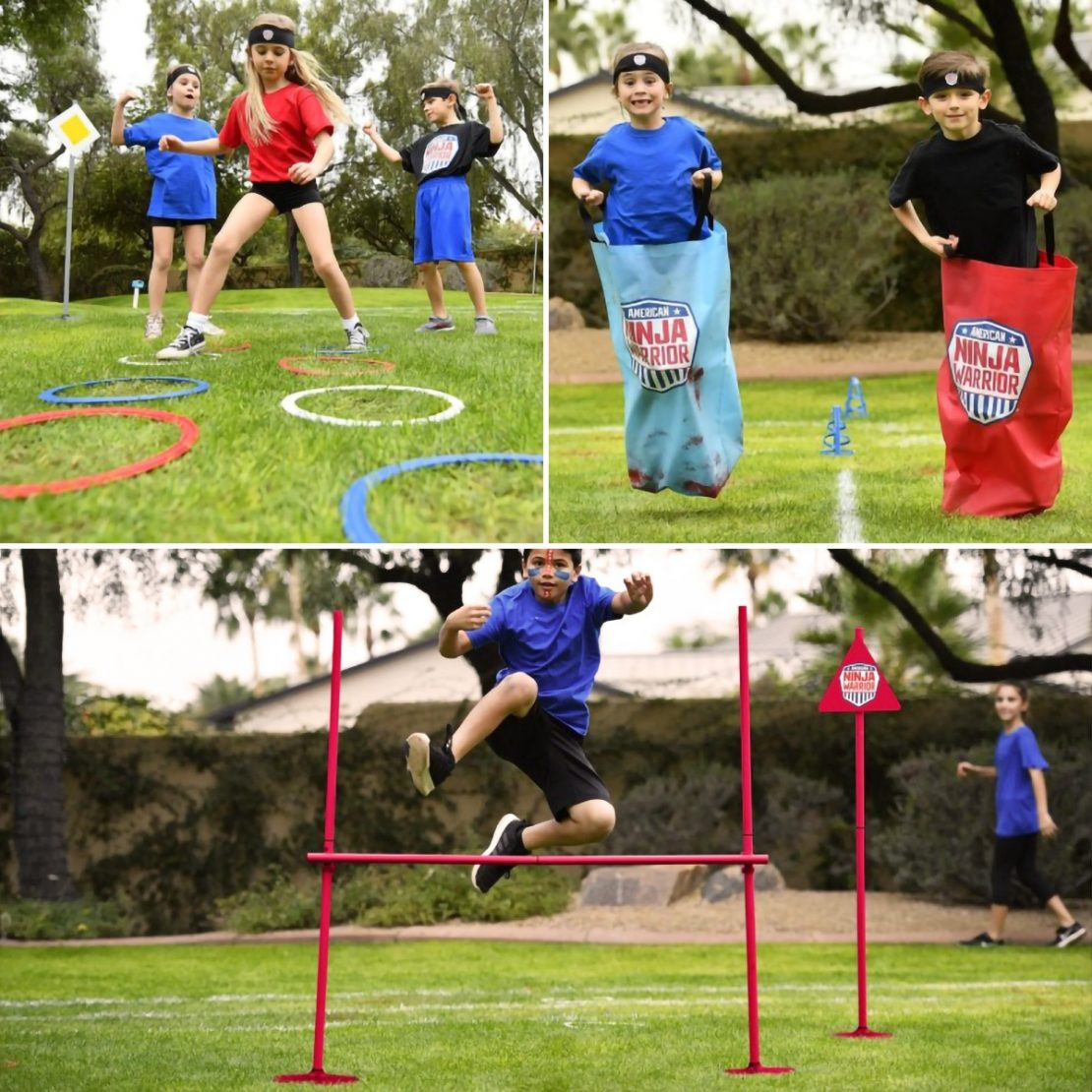 American Ninja Warrior Obstacle Race Set