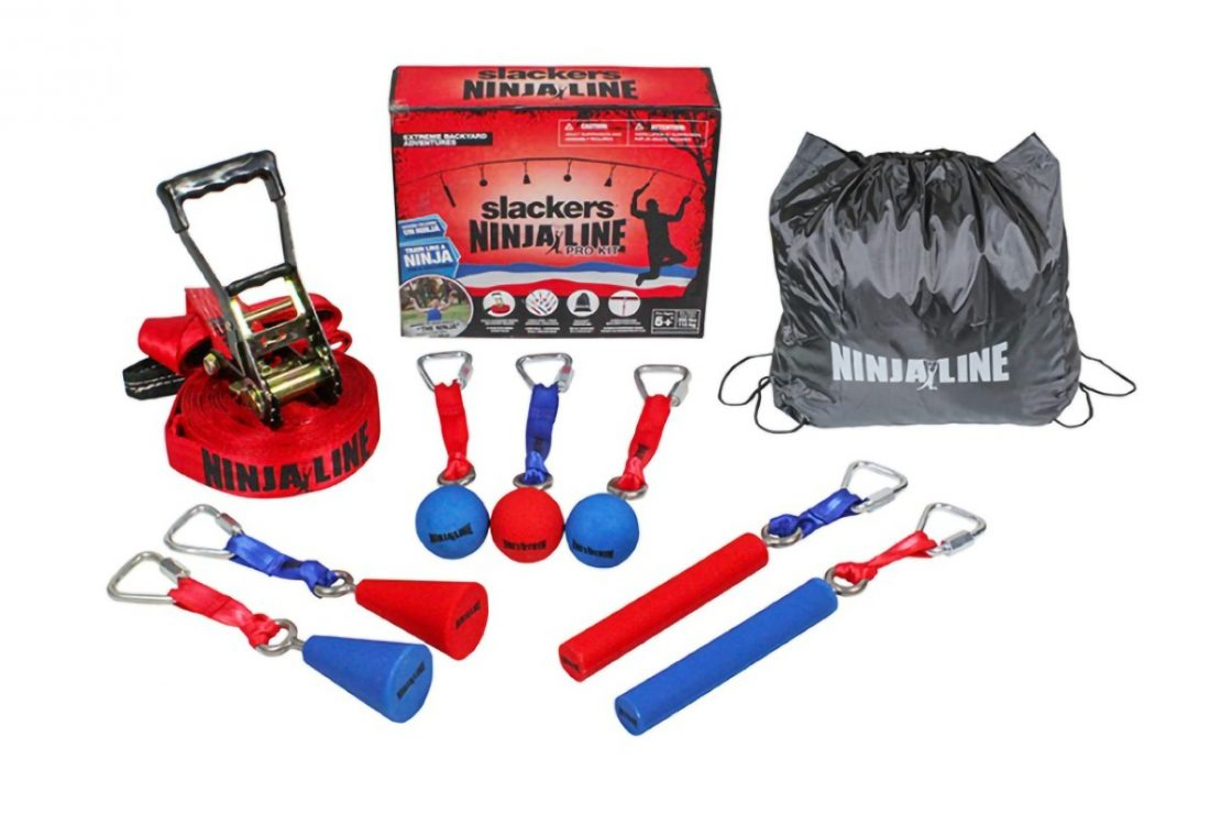 Slackers NinjaLine Pro Contents