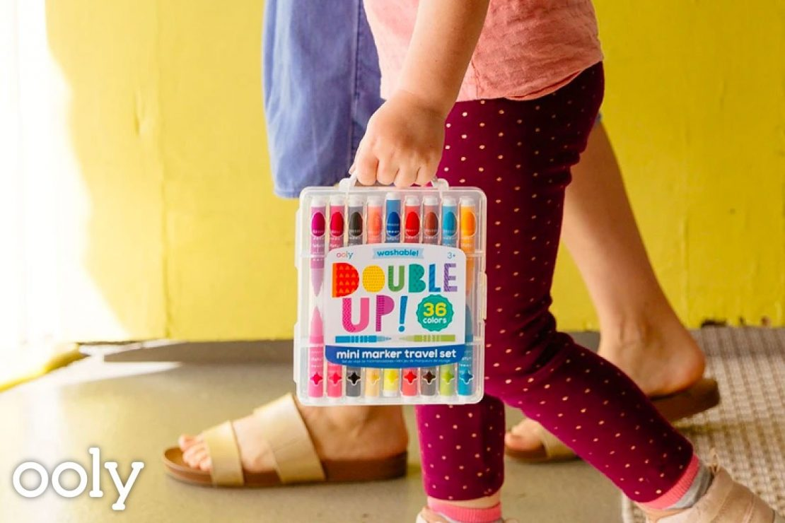 Double Up! 36 2-in-1 mini markers from Ooly