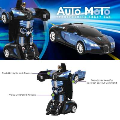 Auto Moto Remote Control Transforming Vehicle