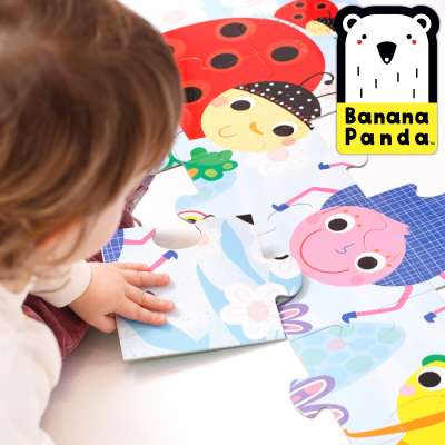 Banana Panda Toddler Puzzles