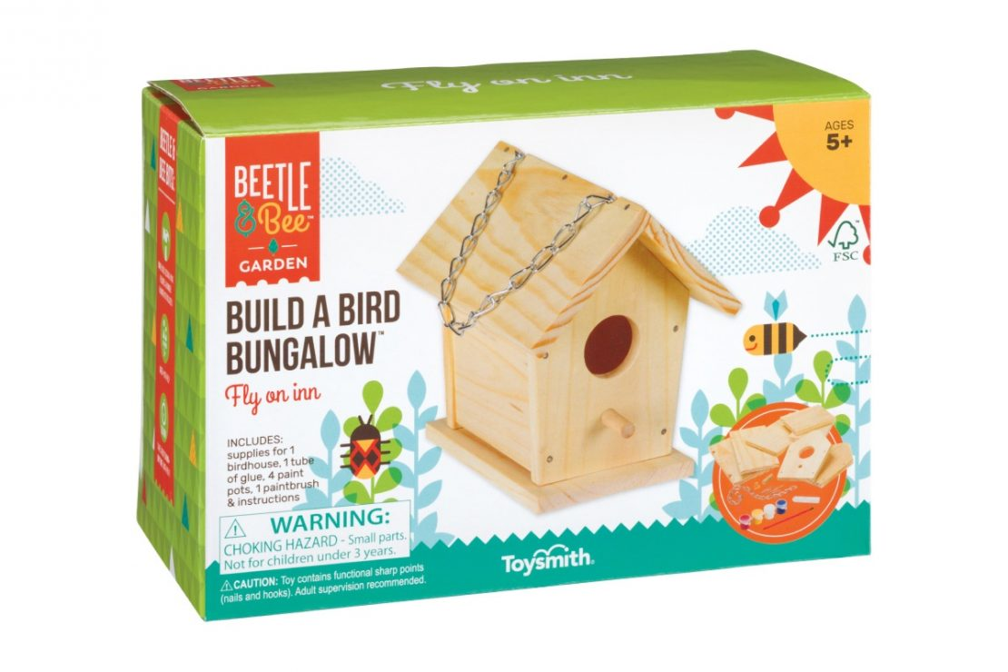 Beetle & Bee Garden Build a Bird Bungalow Box
