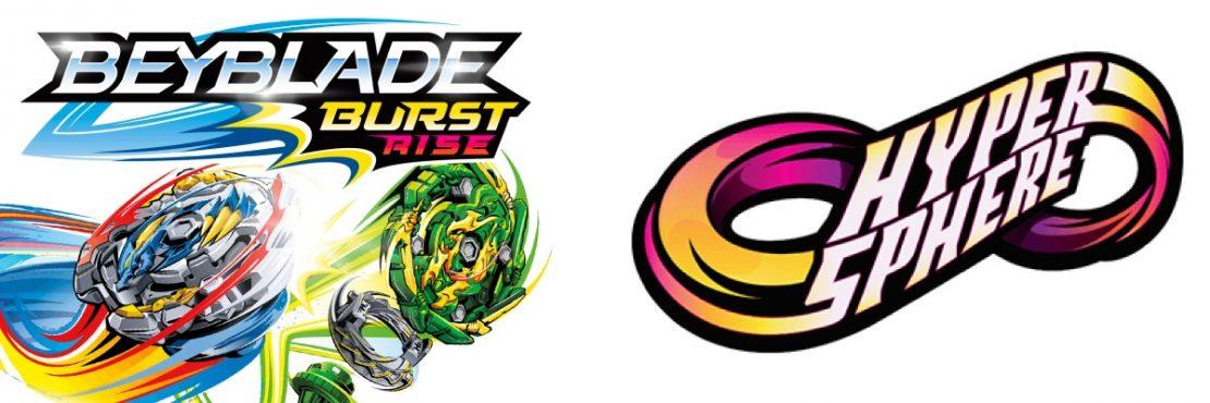Beyblade Burst Rise Hyperspheres from Hasbro