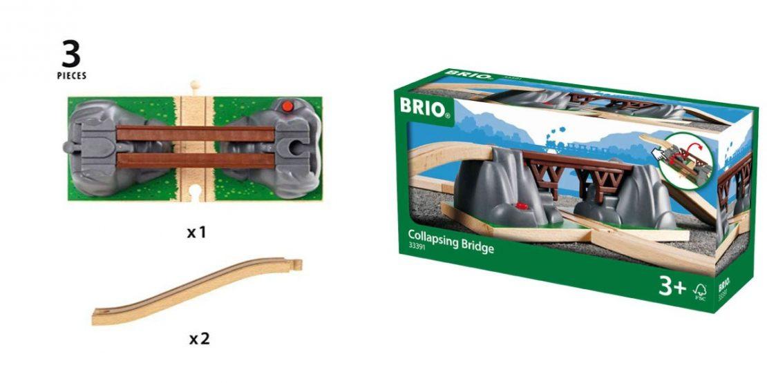 Brio acc collapsing bridge