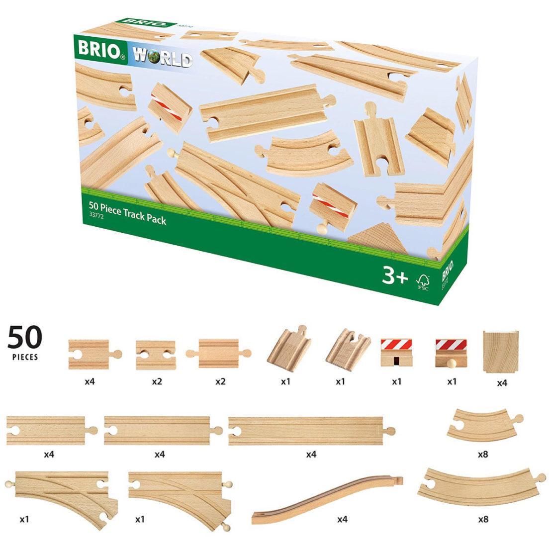 Brio 50 Piece Expansion Track Set