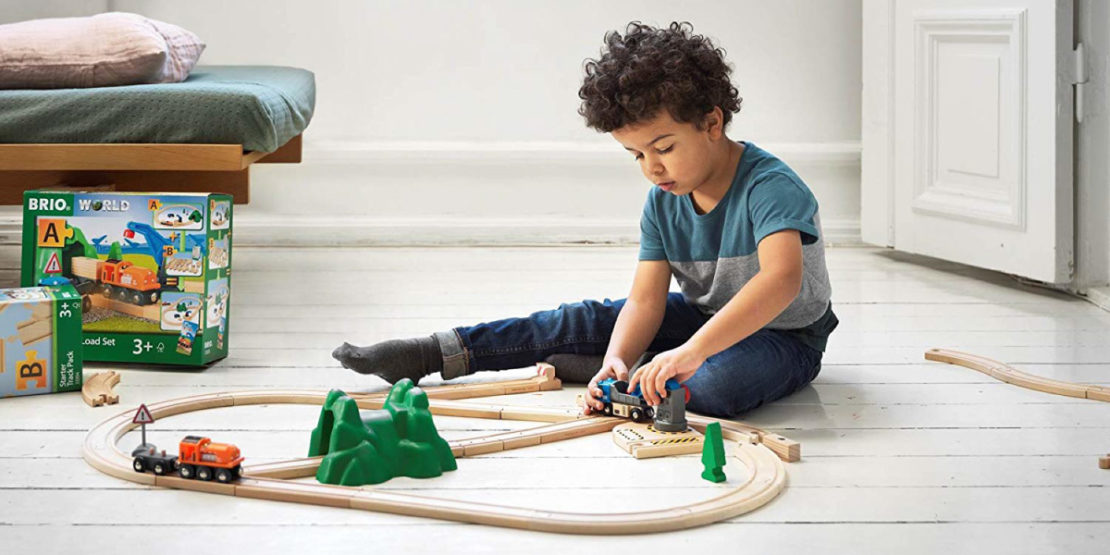 Brio trains mean hours of play