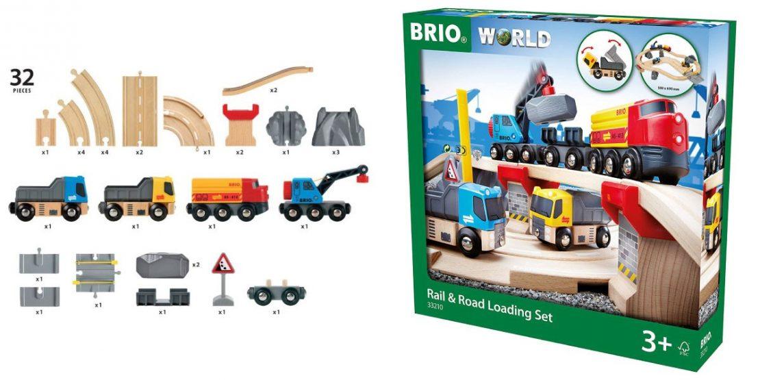 Brio Rail & Road Set