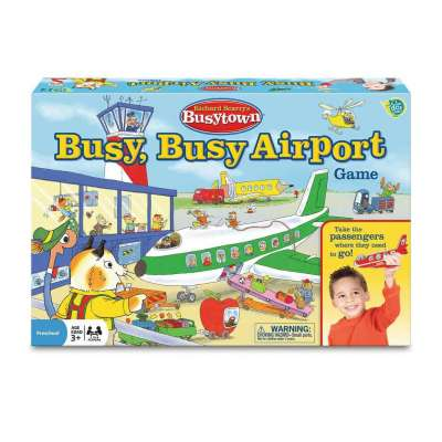 Richard Scarry's Busy Busy Airport Game from Wonderforge