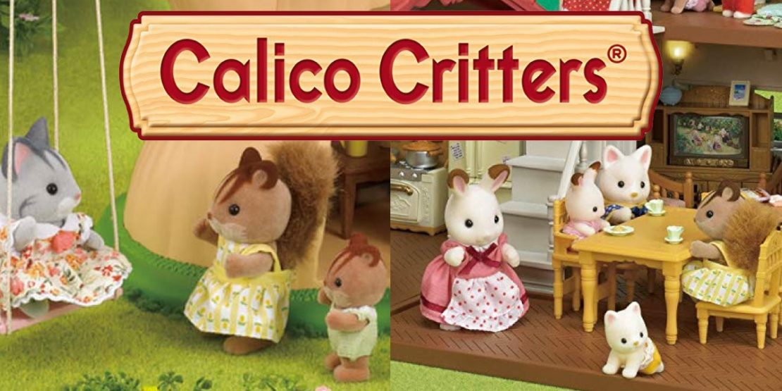 Calico Critters Families and Play Sets