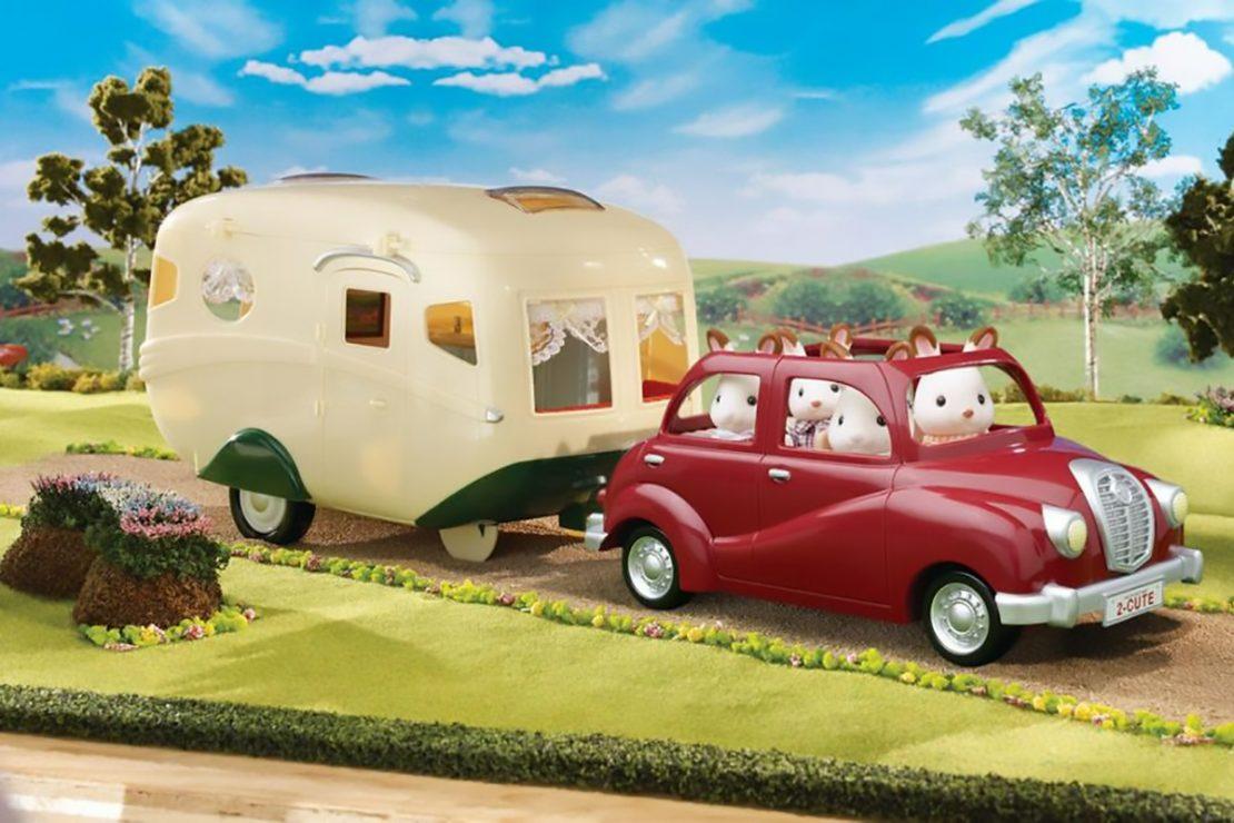 Calico Critters Caravan Family Camper Set
