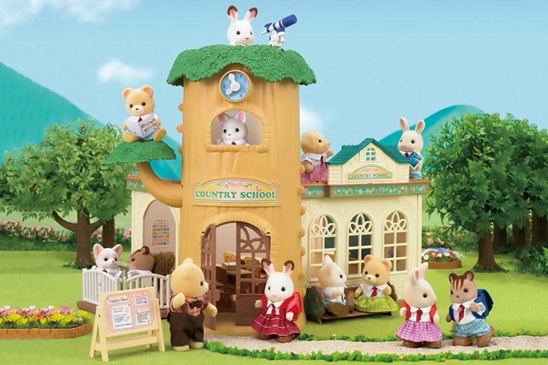 Calico Critter Country Tree School Set