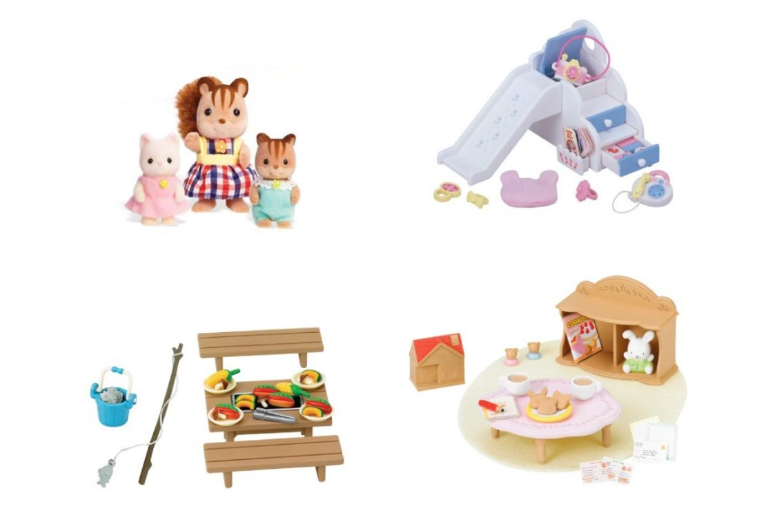 Calico Critters Adventure Tree House Gift Set Contents