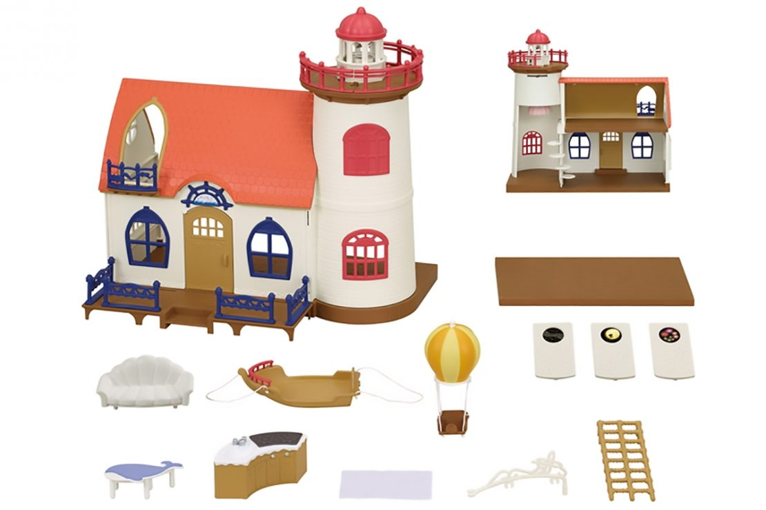 Calico Critters Starry Point Lighthouse Set