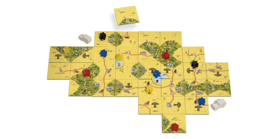 Carcassonne Safari Game from Z-Man Games